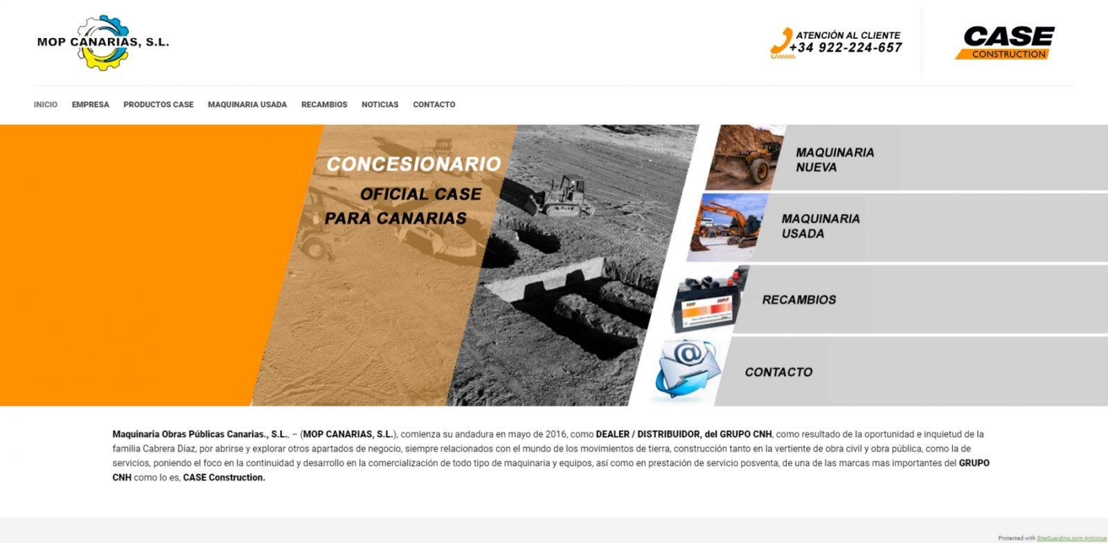 Diseño de páginas web en Lanzarote - Canarias